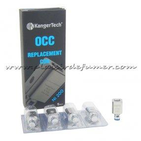 KANGER OCC NI200 résistance Nickel pour Subtank mini