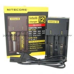 Chargeur d'accu NITECORE Intellicharger I2