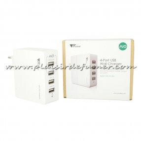 Chargeur mural USB 4 ports - AIO - AMZ DCA 4U