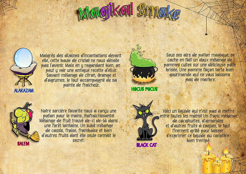MAGIKAL SMOKE fabricant