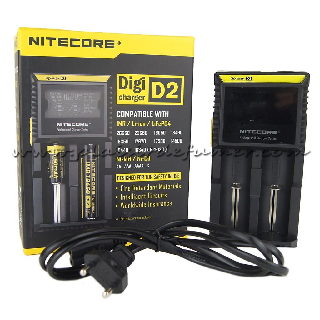 Chargeur d'accu NITECORE Intelli-Core Digi D2