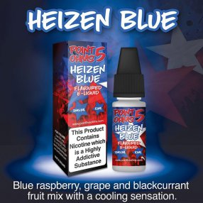 Heizen blue - POINT 5 OHMS - ECO VAPE - 10ml