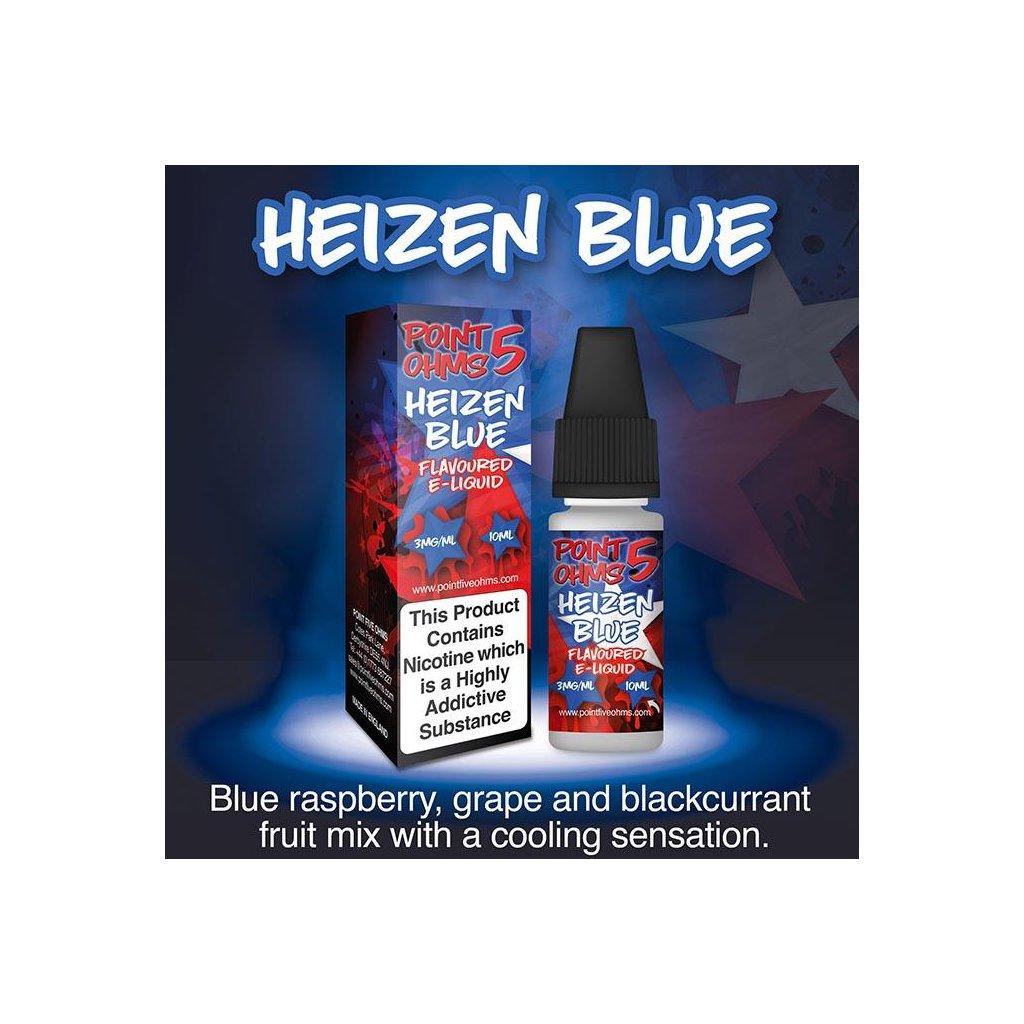 Heizen blue - POINT 5 OHMS - ECO VAPE - 10ml