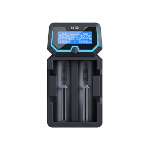XTAR X2 extended - Chargeur d'accu 2 slots
